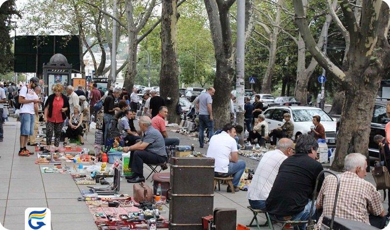 بازارهای خیابانی تفلیس