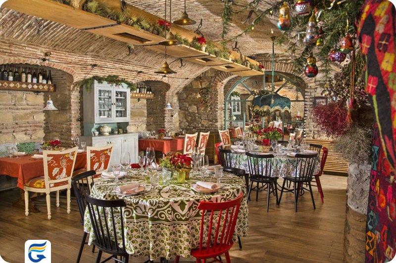 رستوران های سنتی ارزان در تفلیس