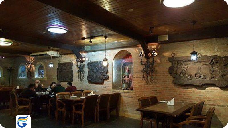 رستوران با موزیک زنده و رقص تفلیس