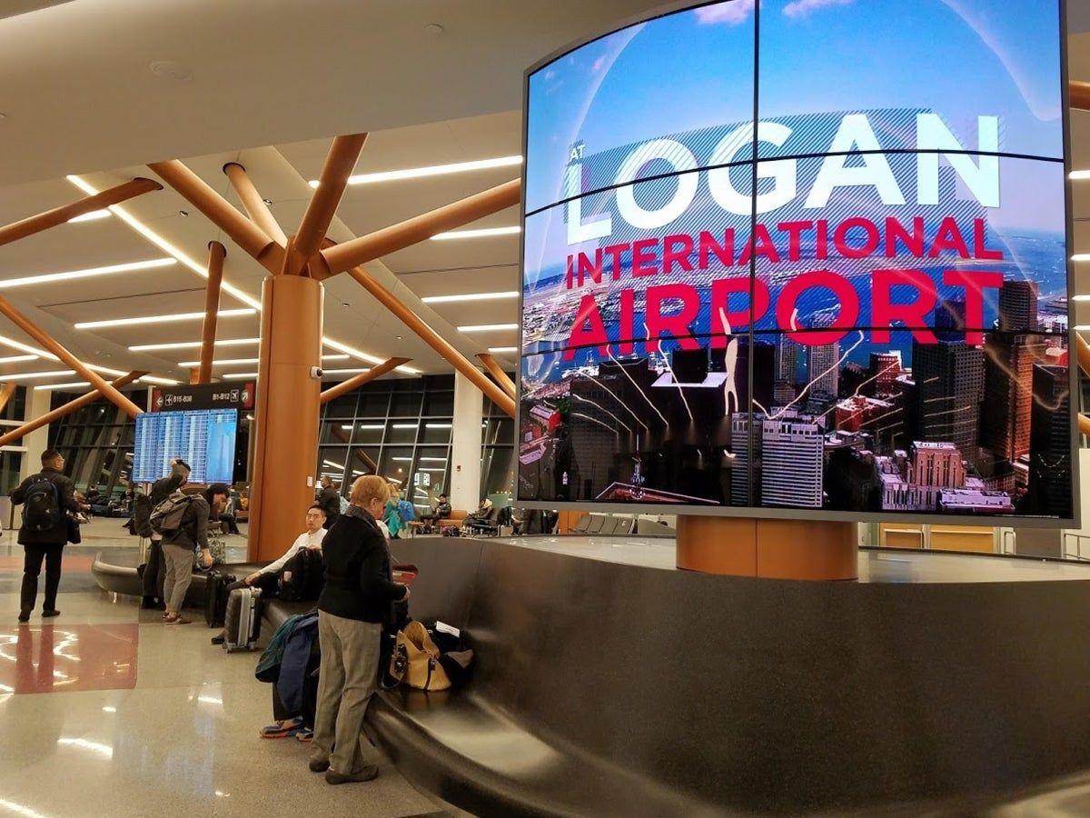فرودگاه های بوستون