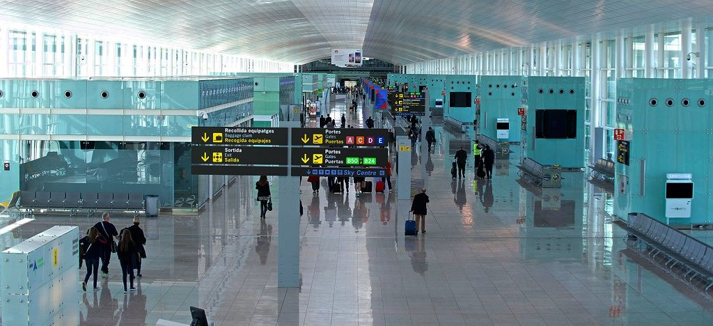 فرودگاه بارسلون
