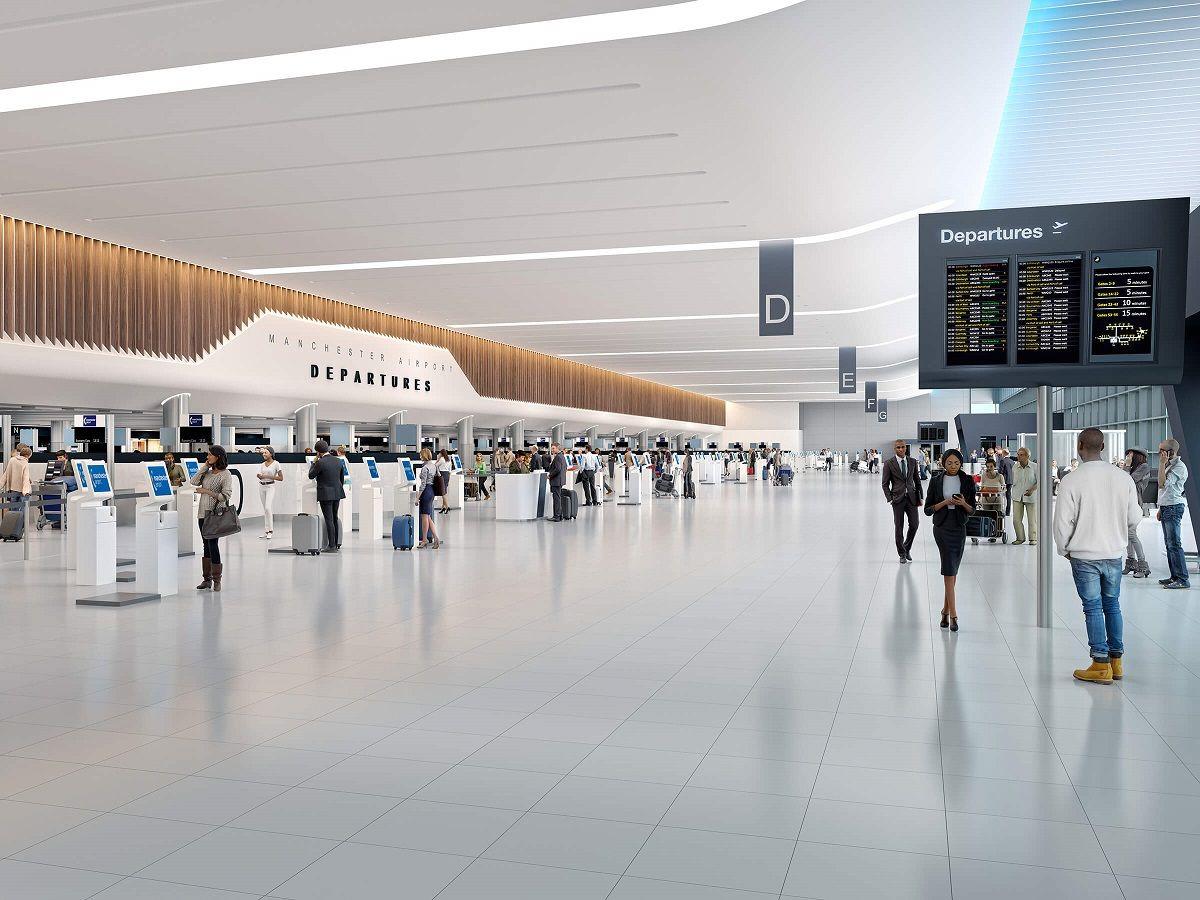 فرودگاه منچستر