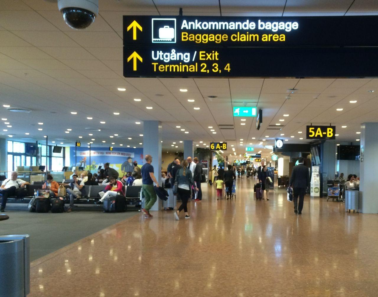 فرودگاه استکهلم