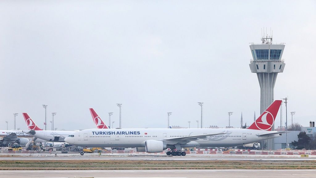 فرودگاه آتا تورک استانبول