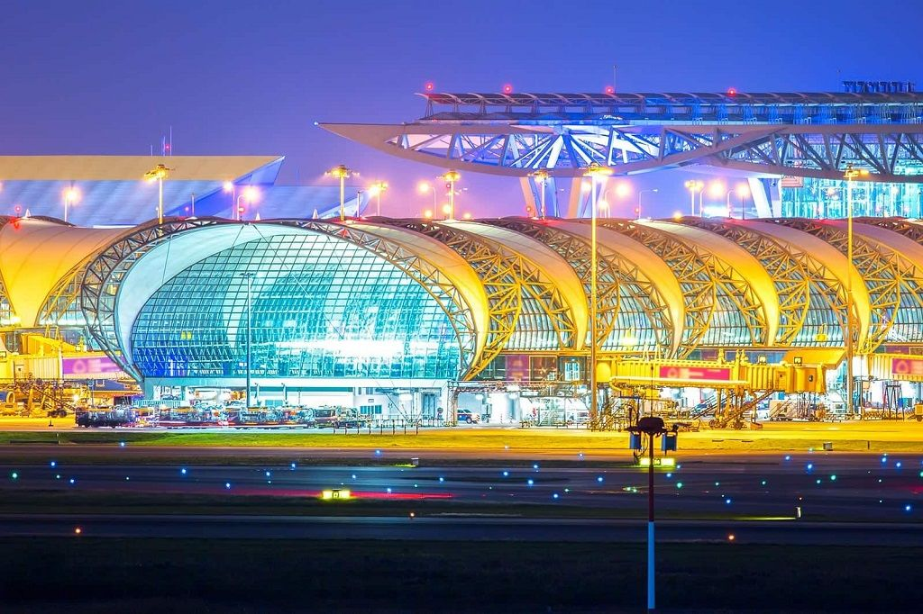 فرودگاه های اصلی بانکوک