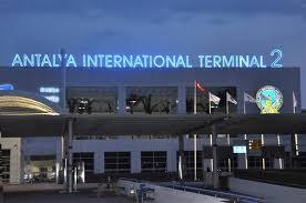 نمایی از فرودگاه آنتالیا ترکیه