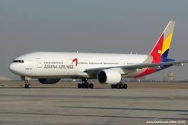 هواپیما هواپیمایی آسیانا ایرلاینز کره جنوبی Asiana Airlines