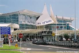 نمایی از فرودگاه اوکلند نیوزیلند