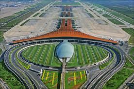 نمایی از فرودگاه پکن چین