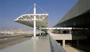 نمایی از فرودگاه رفیق حریزی بیروت