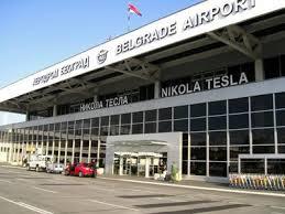 نمایی از فرودگاه نیکولا تسلا بلگراد
