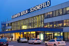 نمایی از فرودگاه شونفیلد برلین آلمان