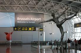 نمایی از فرودگاه بروکسل بلژیک