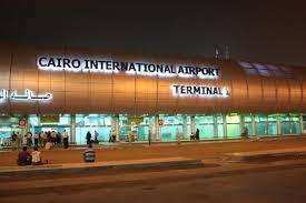 نمایی از فرودگاه قاهره مصر