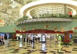 نمایی از فرودگاه چانگی سنگاپور