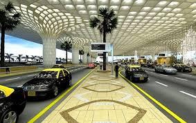 نمایی از فرودگاه چاتراپاچی شواجی بمبئی