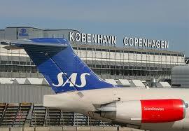 نمایی از فرودگاه کپنهاگ دانمارک