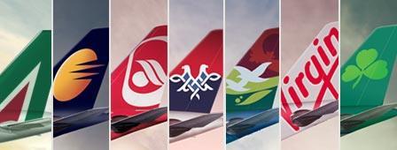 شرکت های هوایی همکار هواپیمایی اتحاد ( الاتحاد ) Etihad Airways