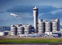 نمایی از فرودگاه هاندا ژاپن