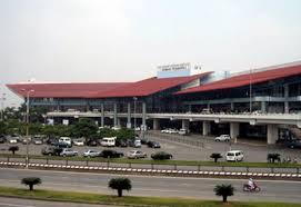 نمایی از فرودگاه نوا به هانوی