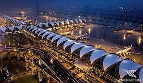 نمایی ایز فرودگاه سووارنابومی تایلند