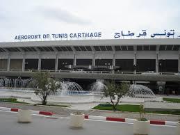 نمایی از فرودگاه کارتاژ تونس