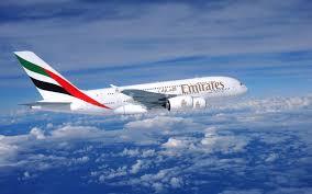 هواپیما A-380 هواپیمایی امارات Emirates Airline Company