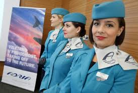 مهمانداران هواپیمایی آدریا ایرویز اسلوونی Adria Airways