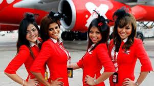 مهمانداران هواپیمایی ایر آسیا مالزی AirAsia Airline