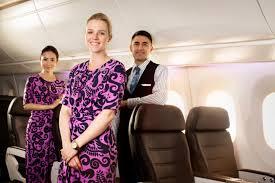 مهمانداران هواپیمایی ایر نیوزیلند Air New Zealand Airline
