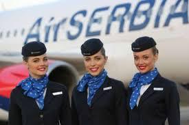 مهمانداران هواپیمایی ایر صربیا صربستان Air Serbia Airline