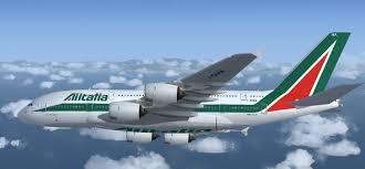 هواپیما هواپیمایی آلیتالیا ایتالیا Alitalia Airlines