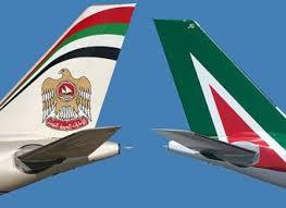هواپیمایی آلیتالیا ایتالیا Alitalia Airlines و هواپیمایی اتحاد امارات Etihad Airways