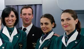 مهمانداران هواپیمایی آلیتالیا ایتالیا Alitalia Airlines