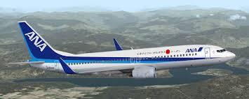 هواپیما هواپیمایی آل نیپون ایرویز ژاپن All Nippon Airways