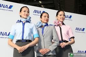 مهمانداران هواپیمایی آل نیپون ایرویز ژاپن All Nippon Airways