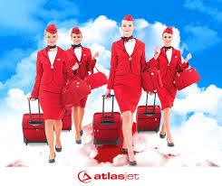 مهمانداران هواپیمایی اطلس جت ترکیه Atlasjet Airline