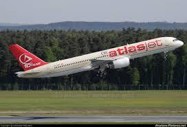 هواپیما هواپیمایی اطلس جت ترکیه Atlasjet Airline