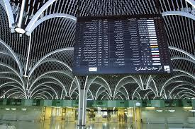 نمایی از فرودگاه بغداد عراق