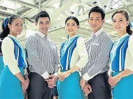 مهمانداران هواپیمایی بانکوک ایرویز تایلند Bangkok Airways