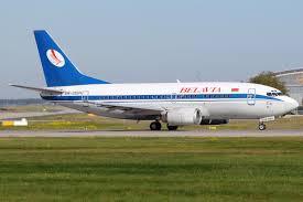 هواپیما هواپیمایی بلاویا بلاروس Belavia Airline Company