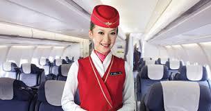 مهمانداران هواپیما نشان هواپیمایی جنوبی چین ( چاینا ساترن ) China Southern Airlines