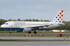 هواپیما هواپیمایی کرواسی ایرلاینز Croatia Airlines