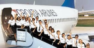مهمانداران هواپیمایی کرواسی ایرلاینز Croatia Airlines