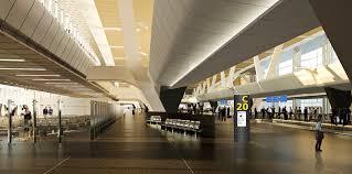 نمایی از فرودگاه دوحه قطر
