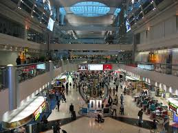نمایی از فرودگاه دبی امارات هواپیمایی امارات Emirates Airline Company