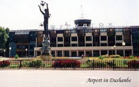 نمایی از فرودگاه دوشنبه تاجیکستان