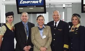 مهمانداران هواپیمایی اجیپت ایر مصر EgyptAir Airline