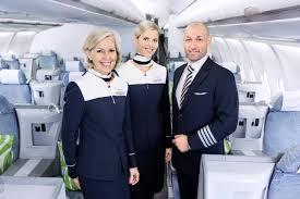 مهمانداران هواپیمایی فین ایر فنلاند Finnair Airline