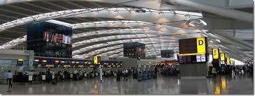نمایی از فرودگاه گتویک لندن انگلستان